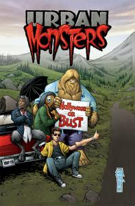 Urban Monsters Cover Issue #1